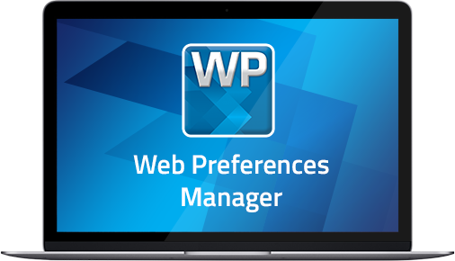 Web Preferences Manager